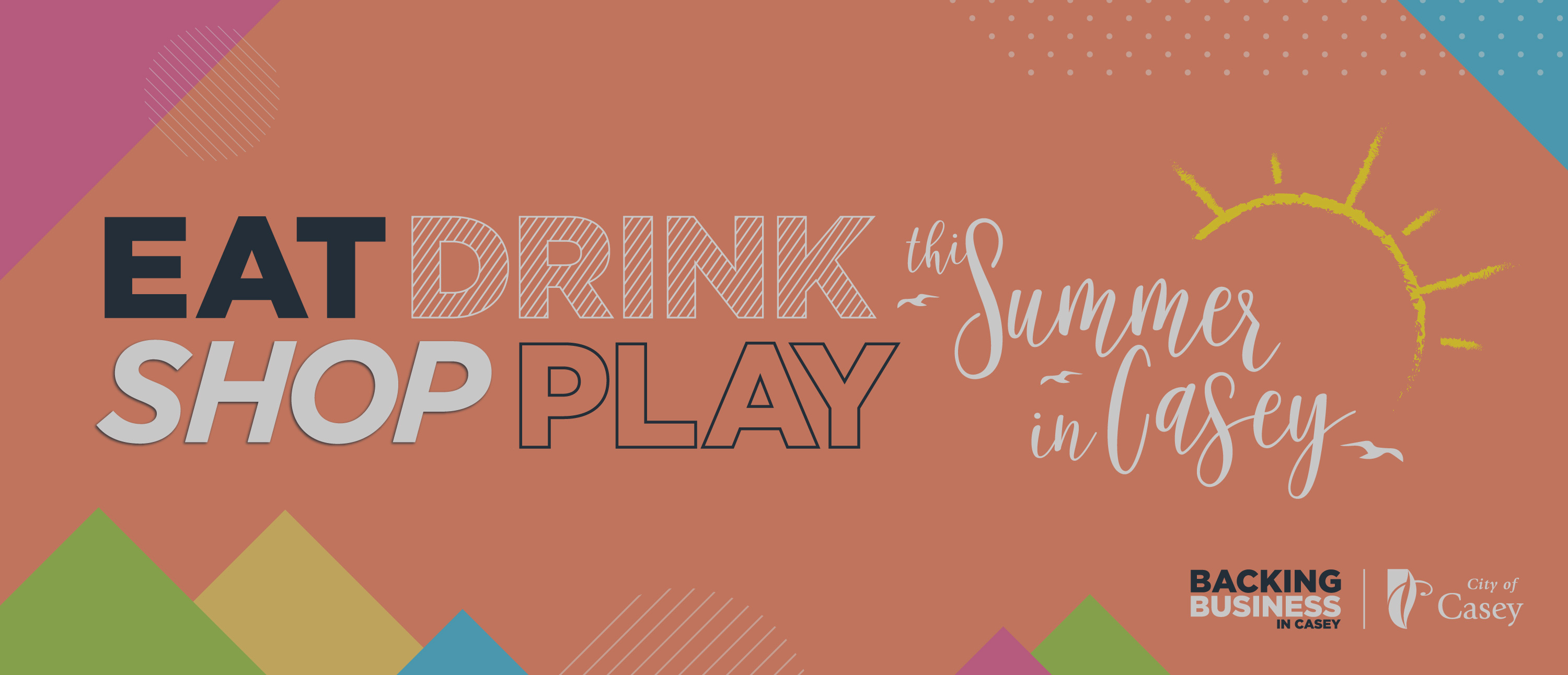 Eat, drink, shop local in Casey this Summer